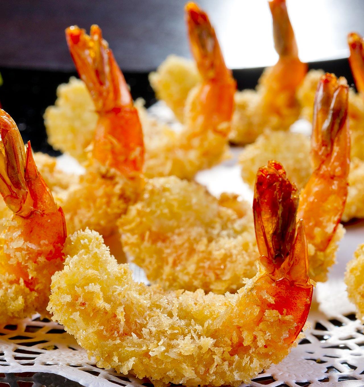 Mazzancolle tropicali in tempura - Giorgio Mare