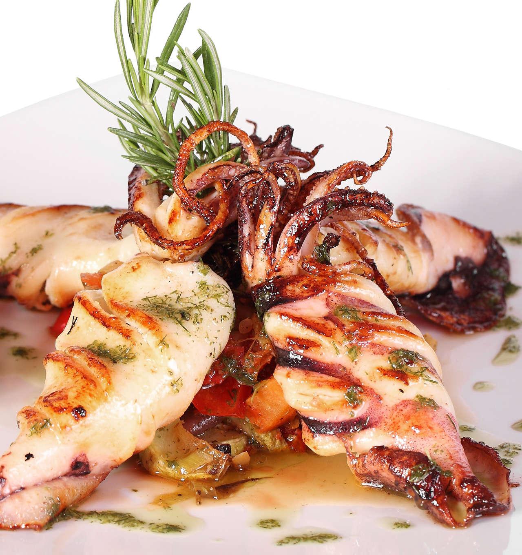 Calamari alla griglia - Ricetta GiorgioMare