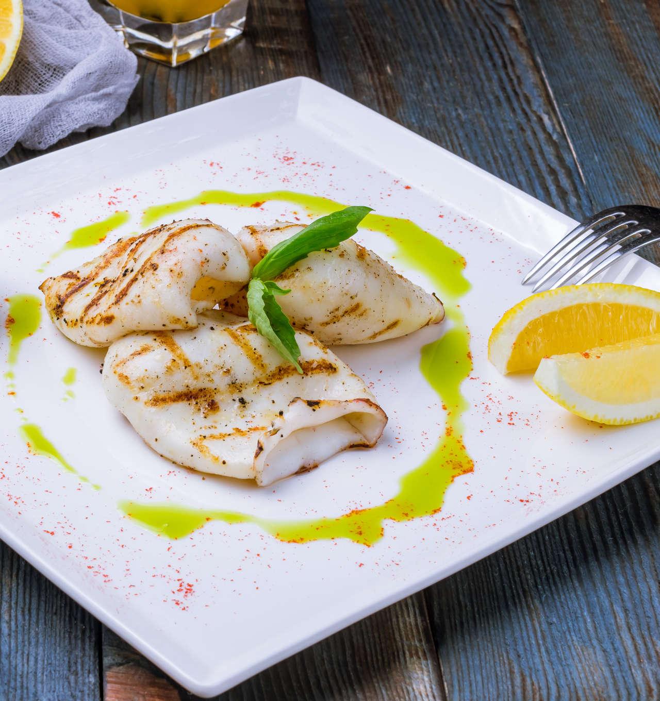 Calamari grigliati alla paprika dolce - Ricetta GiorgioMare