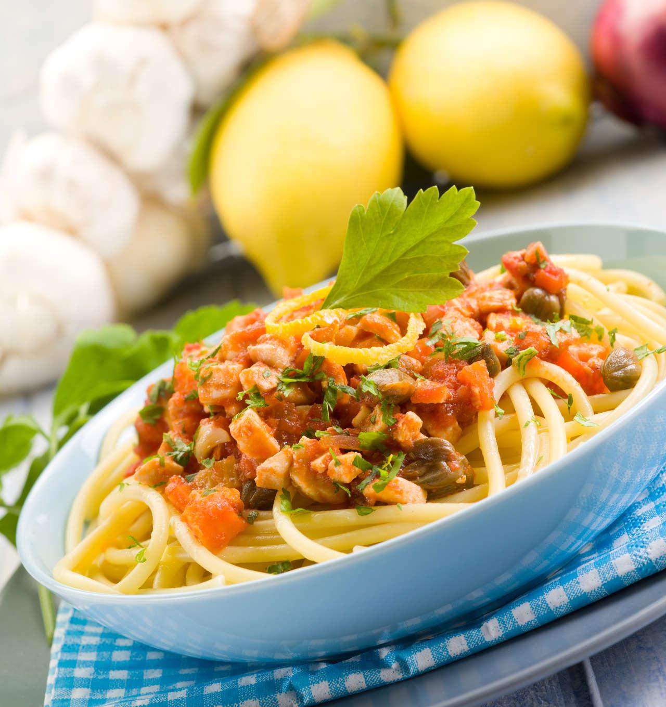 Spaghetti al Ragù di Pesce Spada - Ricetta GiorgioMare