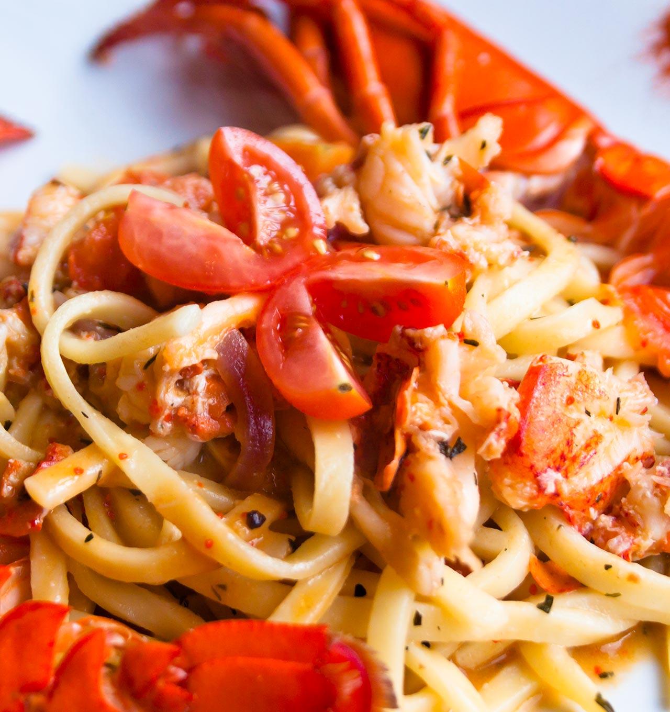 Chitarrine all'aragosta agli agrumi - Ricetta GiorgioMare