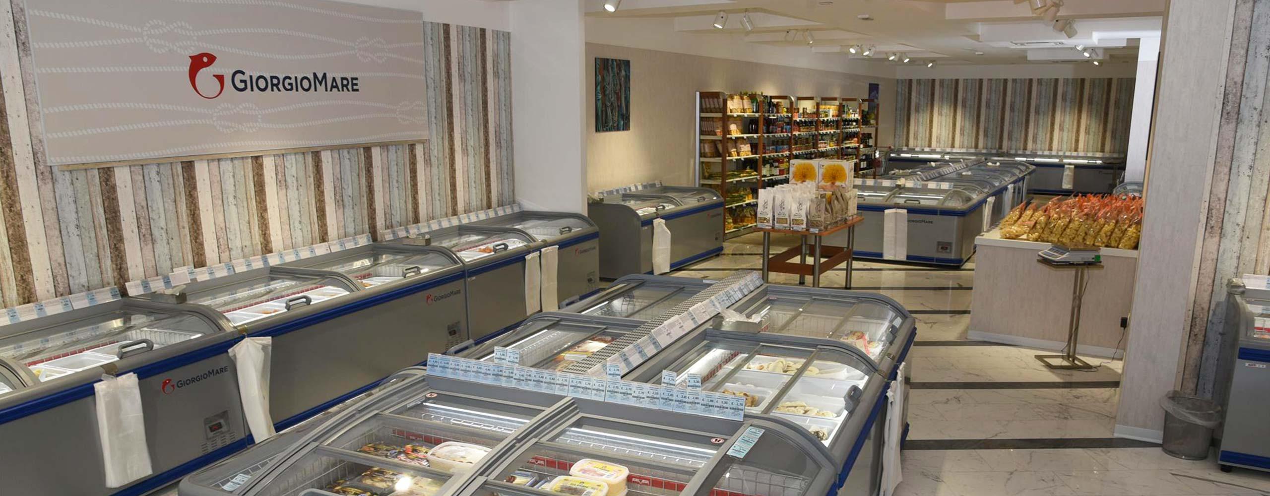Franchsing GiorgioMare - Panoramica negozio