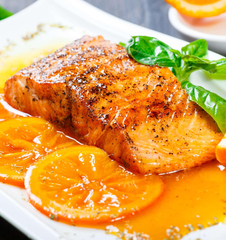 Salmone glassato all'arancia - Ricetta GiorgioMare
