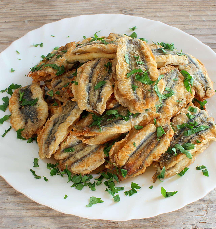 Alici aperte fritte - Ricetta GiorgioMare